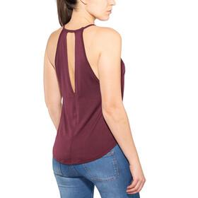 Prana Reylian Mouwloos Shirt Dames rood